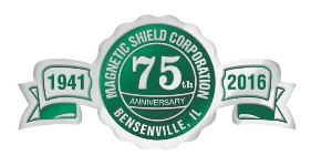 Magnetic Shield 75th Anniversary